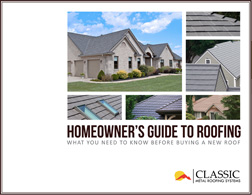 The homeowners guide to roofing